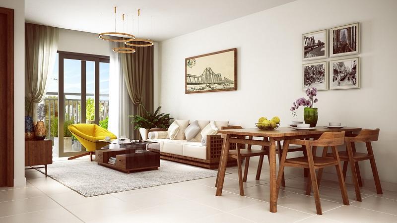phong khach can ho hope residences